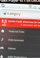 Video shows off Flash 10.1 on DROID 2; Flash to hit Android Market on August 18th