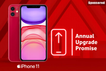 Always have the latest iPhone with Vodafone's annual upgrade promise