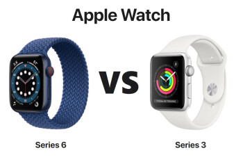 Apple Watch Series 6 vs Apple Watch Series 3
