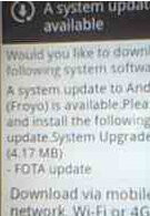 Fix is ready for HTC EVO 4G owners who installed unofficial build of Froyo