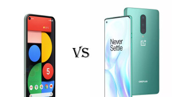 Google Pixel 5 vs OnePlus 8
