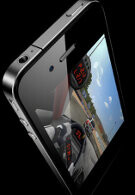 3D gaming showed off on the iPhone 4 and the Palm Pixi, results may vary