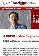 Second Froyo update coming to original DROID says Verizon
