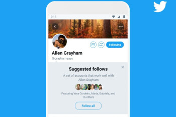 Twitter begins testing new grouped follow feature on Android