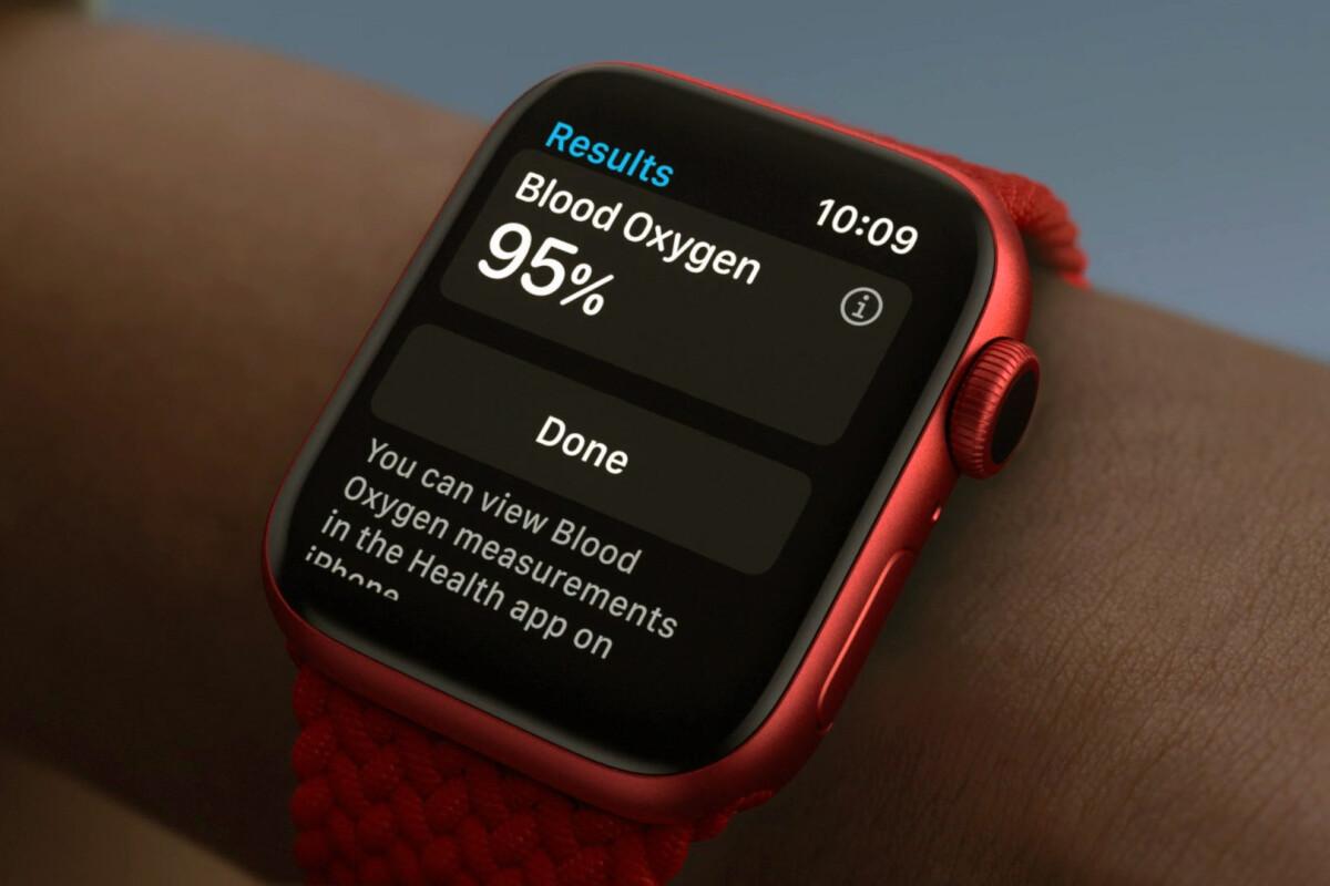 Apple watch spo2 sensor