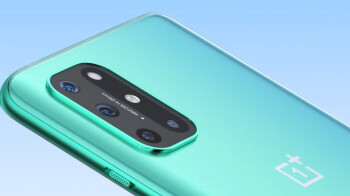 Check out the OnePlus 8T 5G in Aquamarine Green and Lunar Silver