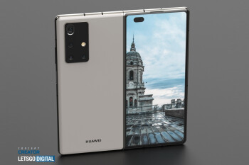 See how the Huawei Mate X2 5G folding phone may look like