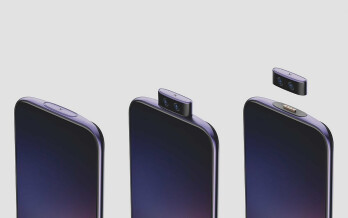 New concept phone has a detachable pop-up camera