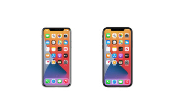 Leaked iPhone 12 icons show off smaller notch ahead of tomorrow's event