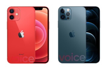 Apple iPhone 12 & iPhone 12 Pro 5G leak in all colors