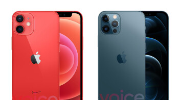 Apple iPhone 12 and iPhone 12 Pro 5G leak in all colors hours before event
