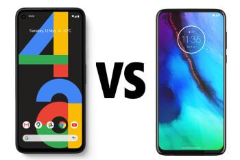 Pixel 4a vs Moto G Stylus