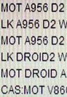DROID Pro spotted on Verizon computer system along with White DROID 2 and more