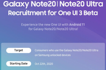 Samsung's new One UI 3.0 beta makes its way to the Galaxy Note 20 series
