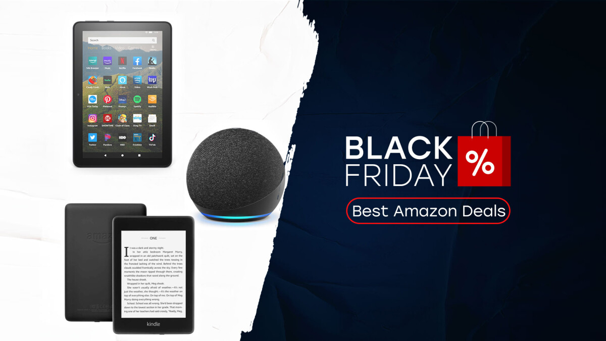 Amazon Kindle Fire Tablets Echo Speakers Black Friday Deals Phonearena