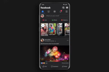 Dark mode for the Facebook app is now being tested publicly