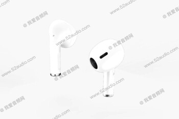 """Check out an alleged render of AirPods 3 using a """"Pro"""" design with a shorter stem"""