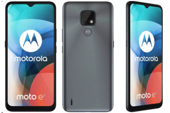 Moto E7 renders and specs leak online: the phone sports a 48MP main camera and a 4,000mAh battery