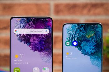 Samsung stuns some 5G Galaxy S20+ users with the timing of a software update