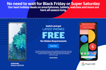 UScellular holiday deals are available now until January 11
