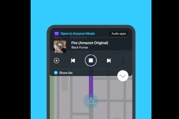 Waze now fully supports Amazon's Music streaming service