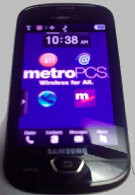 Samsung Craft, MetroPCS's first LTE phone, poses for a hazy photo shoot