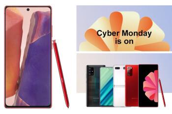Red Note 20, new instant credit, Samsung goеs crazy for Cyber Monday!