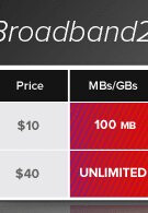Virgin Mobile pushes the threshold as they launch their $40/month broadband plan