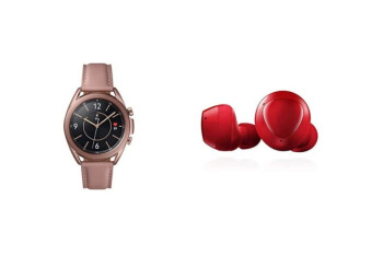 Save big before Christmas by buying the Samsung Galaxy Watch 3 and Galaxy Buds+ together
