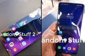 Samsung's 5G Galaxy S21+ has been spotted on video for the first time