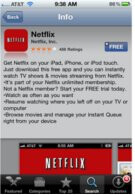 Netflix app brings watch instantly movies to the iPhone over 3G