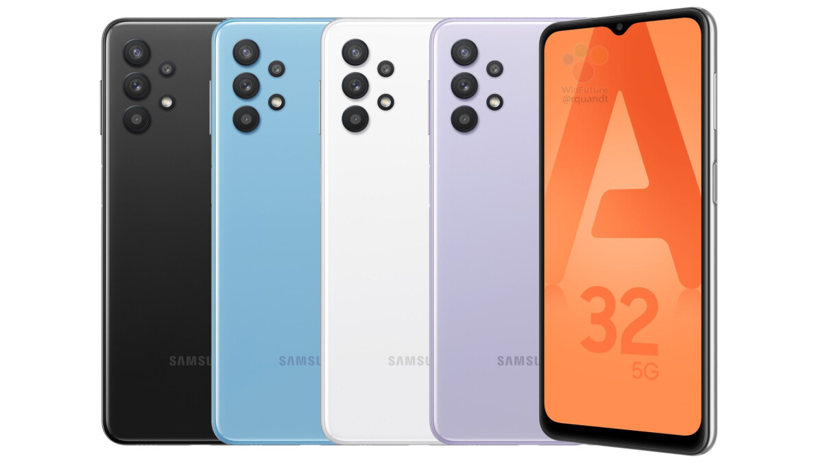 Take a look at Samsung's Galaxy A32 5G and its unique camera design - PhoneArena