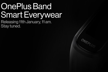 OnePlus' first wearable device drops on January 11