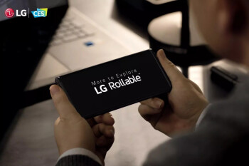 The LG Rollable has been shown off for the first time in a teaser video