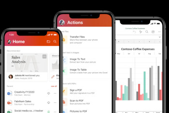 Microsoft updates Office for iOS with mouse and multi-window support