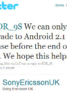Sony Ericsson U.K. confirms September Android 2.1 update for Xperia X10; are U.S. models included?