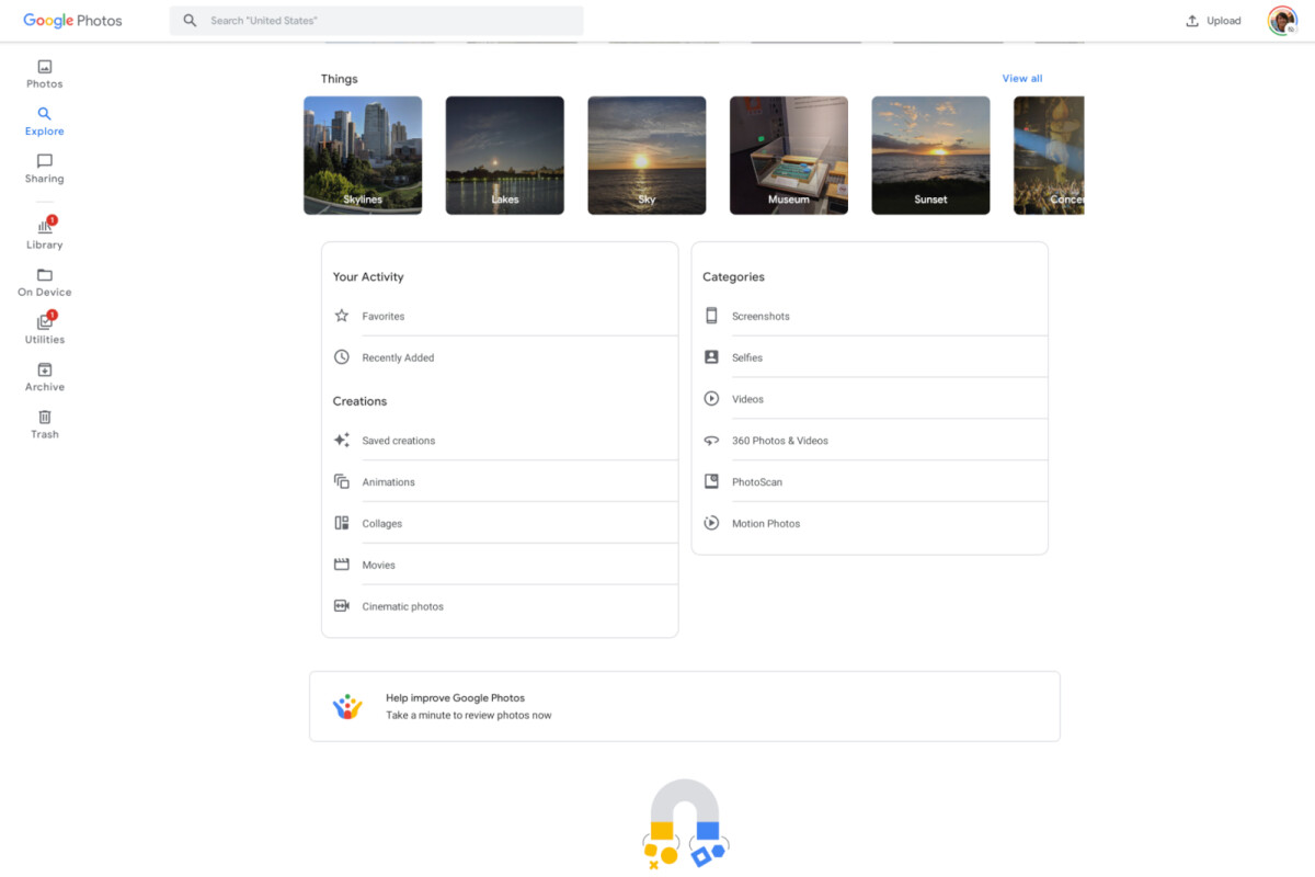 Google Photos gets a long overdue redesign for Android tablets - PhoneArena