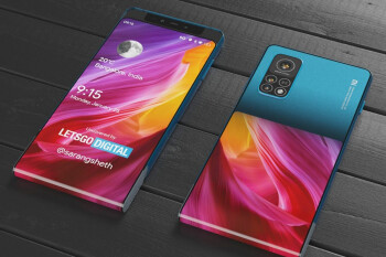 Check out this crazy Xiaomi phone with a vertically sliding display (3D renders)