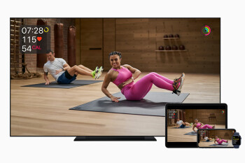 Apple Fitness+ workouts will soon be available to stream via AirPlay