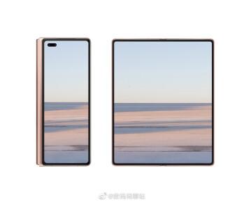 Huawei Mate X2 leak confirms inward folding screen, notchless design