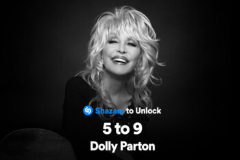 Shazam teams up with Dolly Parton to offer new users up to 5 months of free Apple Music