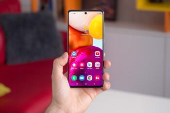 Unlocked Samsung Galaxy A71 5G is 25% off on Amazon