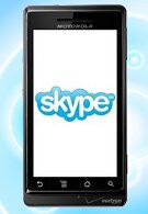 Verizon's Skype for Android has been updated to allow Wi-Fi connection