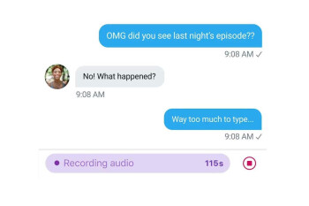 Twitter rolls out Voice DMs in selected regions