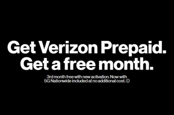 Verizon Prepaid customers get a free month with new activation
