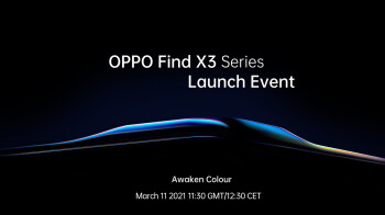 Oppo sends out invites to March 11 event; Find X3 Pro 5G teased