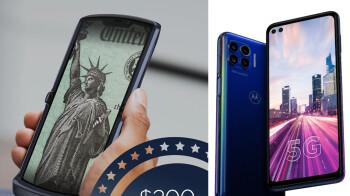Motorola slashes $200 off the RAZR 5G, $250 off the One 5G