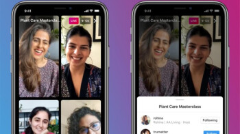 Instagram introduces Live Rooms, lets up to four people to go live