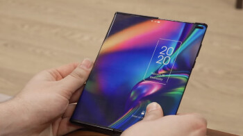 Foldable phones, step back: Here comes a phone that expands on demand