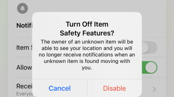 Apple may let you know if you're being stalked